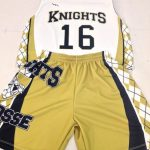 Gold Lacrosse Uniforms
