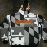 Maryland Flag Sweat Shirts