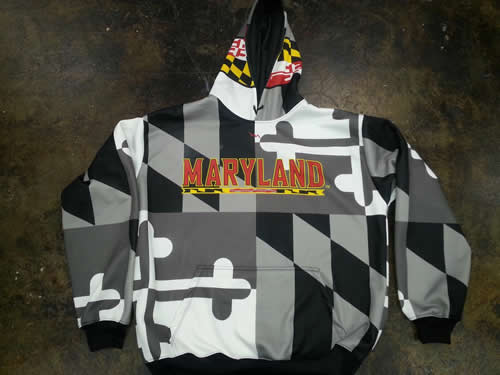 maryland hooded sweathshirt