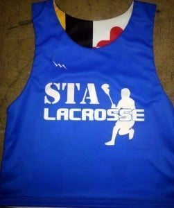 youth lacrosse practice pinnies