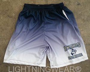 blue lacrosse shorts