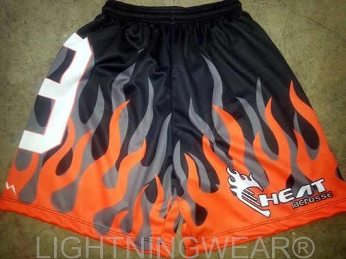 custom sublimated lacrosse shorts youth