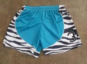 girls custom lax shorts