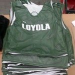 Loyola Lacrosse Pinnies