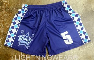 girls custom lacrosse shorts