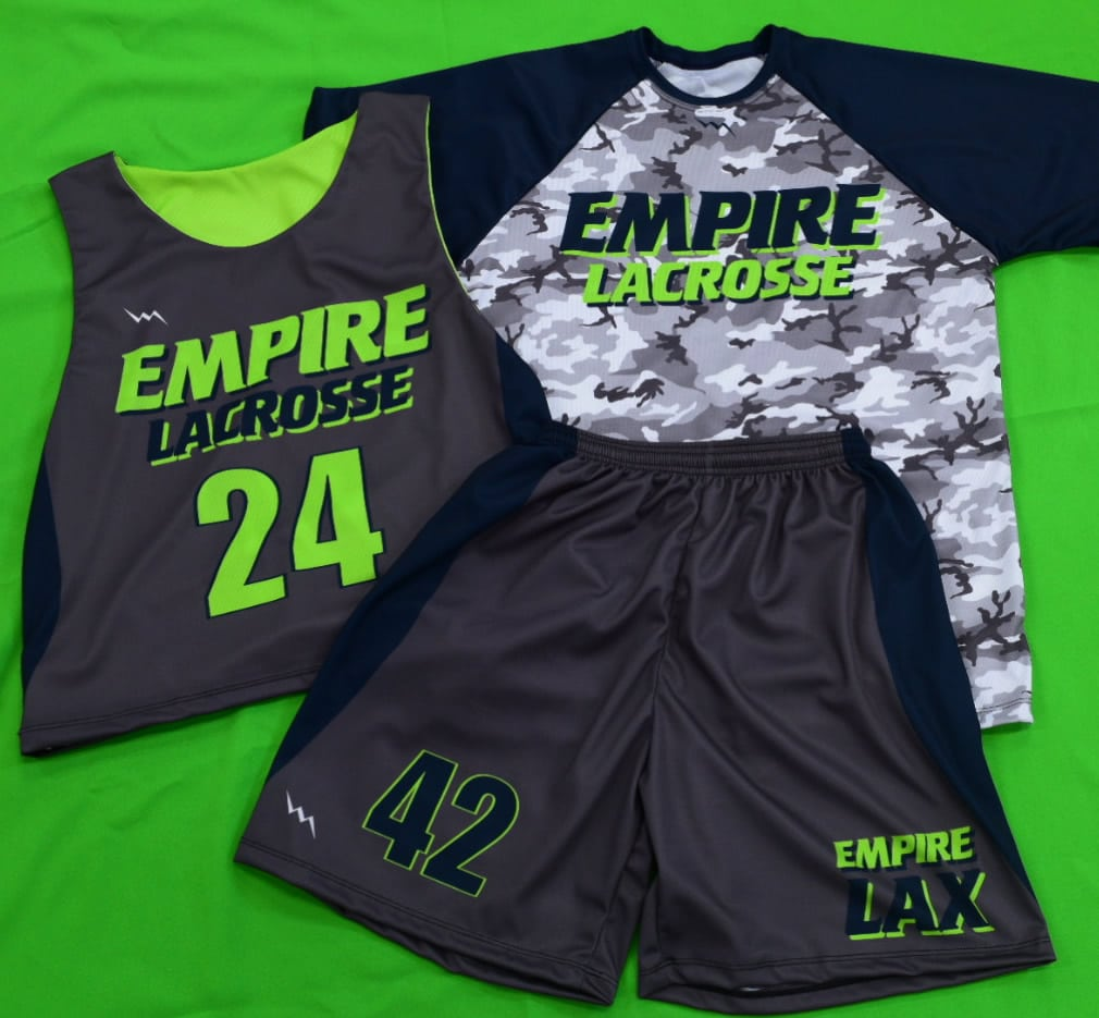 custom lacrosse uniform sets