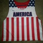 USA Flag Pinnie