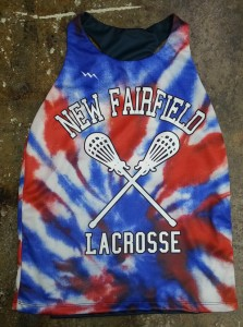 custom girls lacrosse pinnies