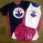 Girls Lacrosse Uniform Shooter Shirts