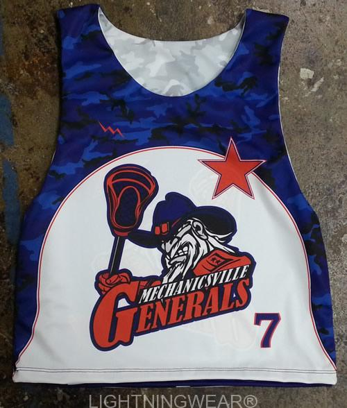 sublimated kids lacrosse uniforms