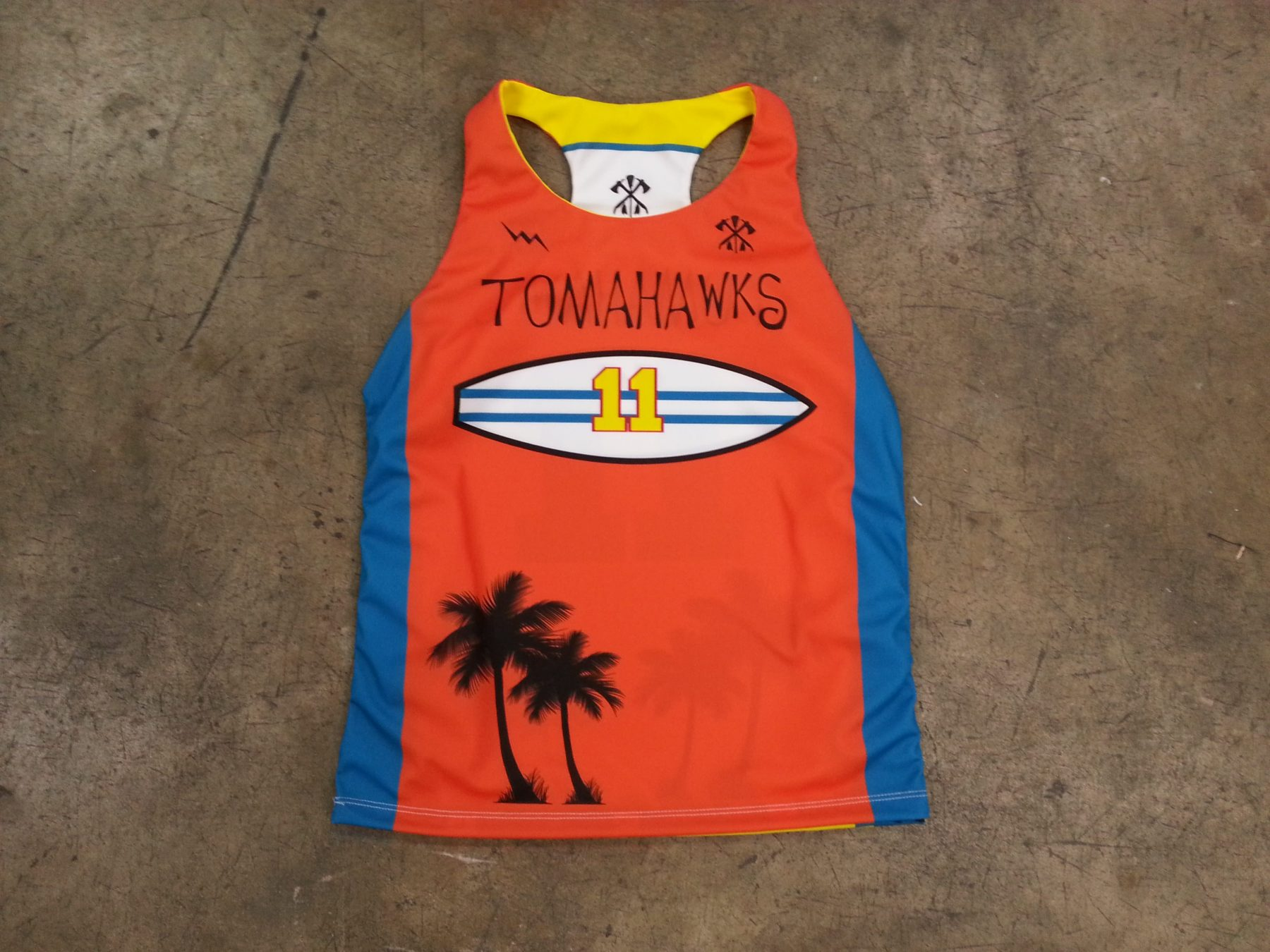 girls lax pinnie