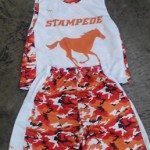 Orange Camouflage Lacrosse Uniforms – Orange Lax Shorts