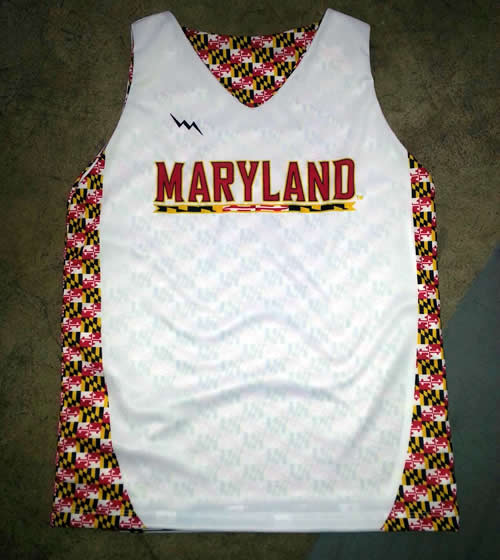 Maryland womens lacrosse pinnie