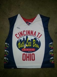 Ohio lacrosse pinnies