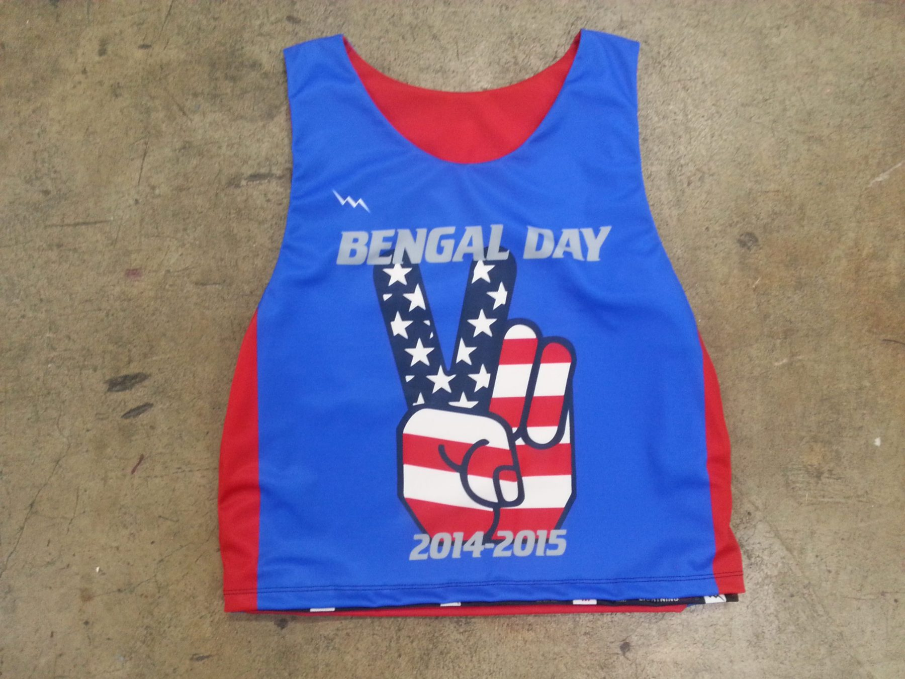 bengal day pinnies