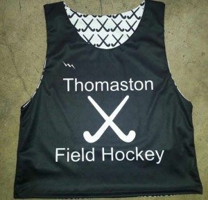 thomaston field hockey pinnie