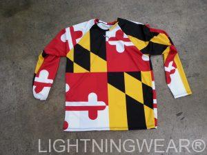 Maryland long sleeve shirts