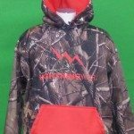 Camouflage Hooded Sweatshirt Camo