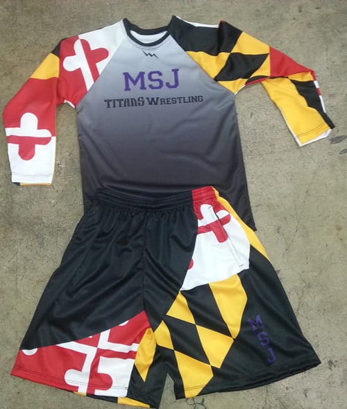 maryland flag apparel