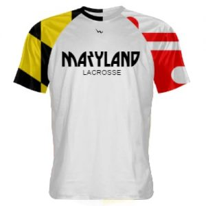 maryland flag lacrosse shirt