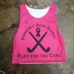 Pink Field Hockey Pinnies