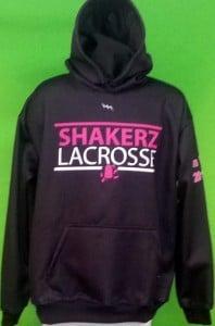 shakerz lacrossehooded sweatshirts