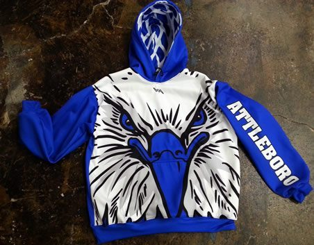 team lacrosse hooded sweatshirts