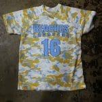 Camo Print T shirt