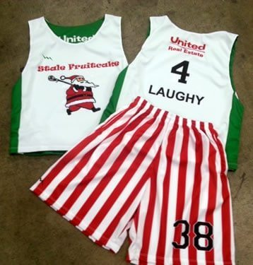 christmas lacrosse uniforms