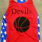 Girls Racerback Basketball Jerseys