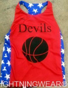 girls racerback basketball jerseys