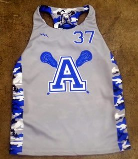 girls racerback pinnie