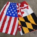 Maryland USA Flag Shorts – Lacrosse