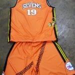 Custom Basketball Uniforms Sublimated