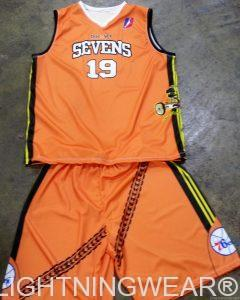 Custom Basketball Uniforms Sublimated