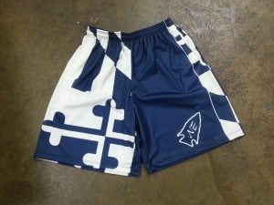 lacrosse shorts maryland