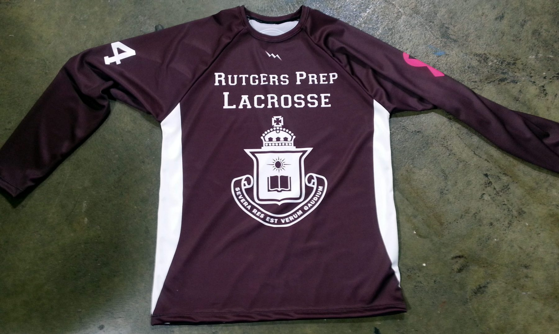 long sleeve lacrosse shirts in New Jersey