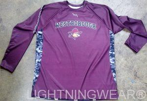long sleeve shooting jersey