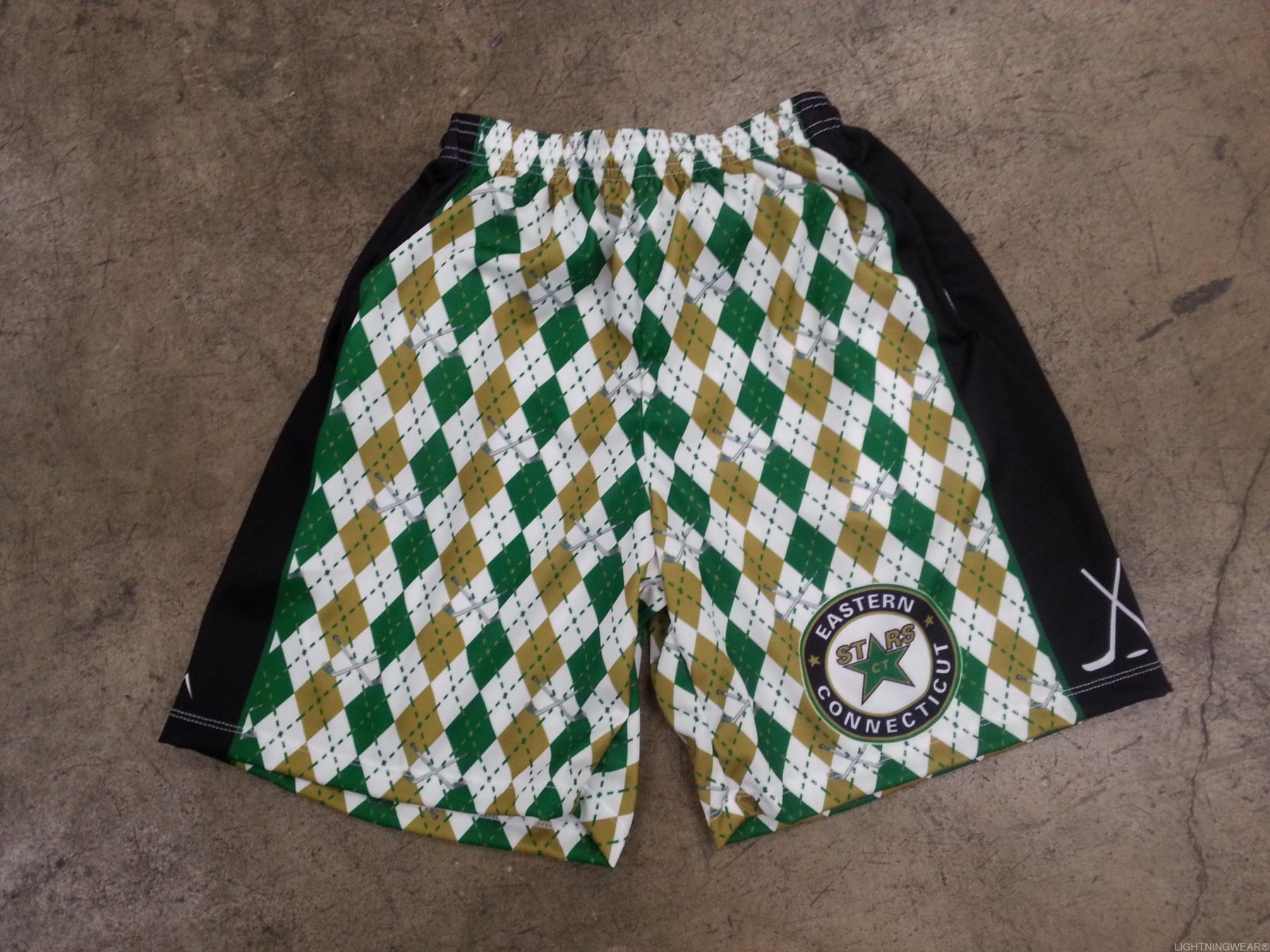 sublimated ice hockey shorts
