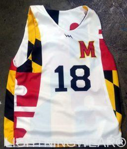 volleyball uniforms Maryland