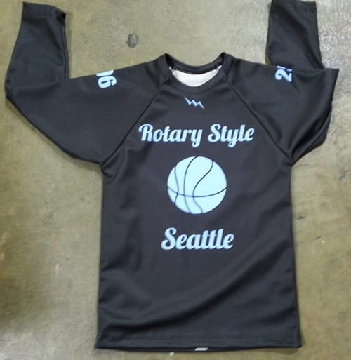 youth basketball long sleeve shooter shirts