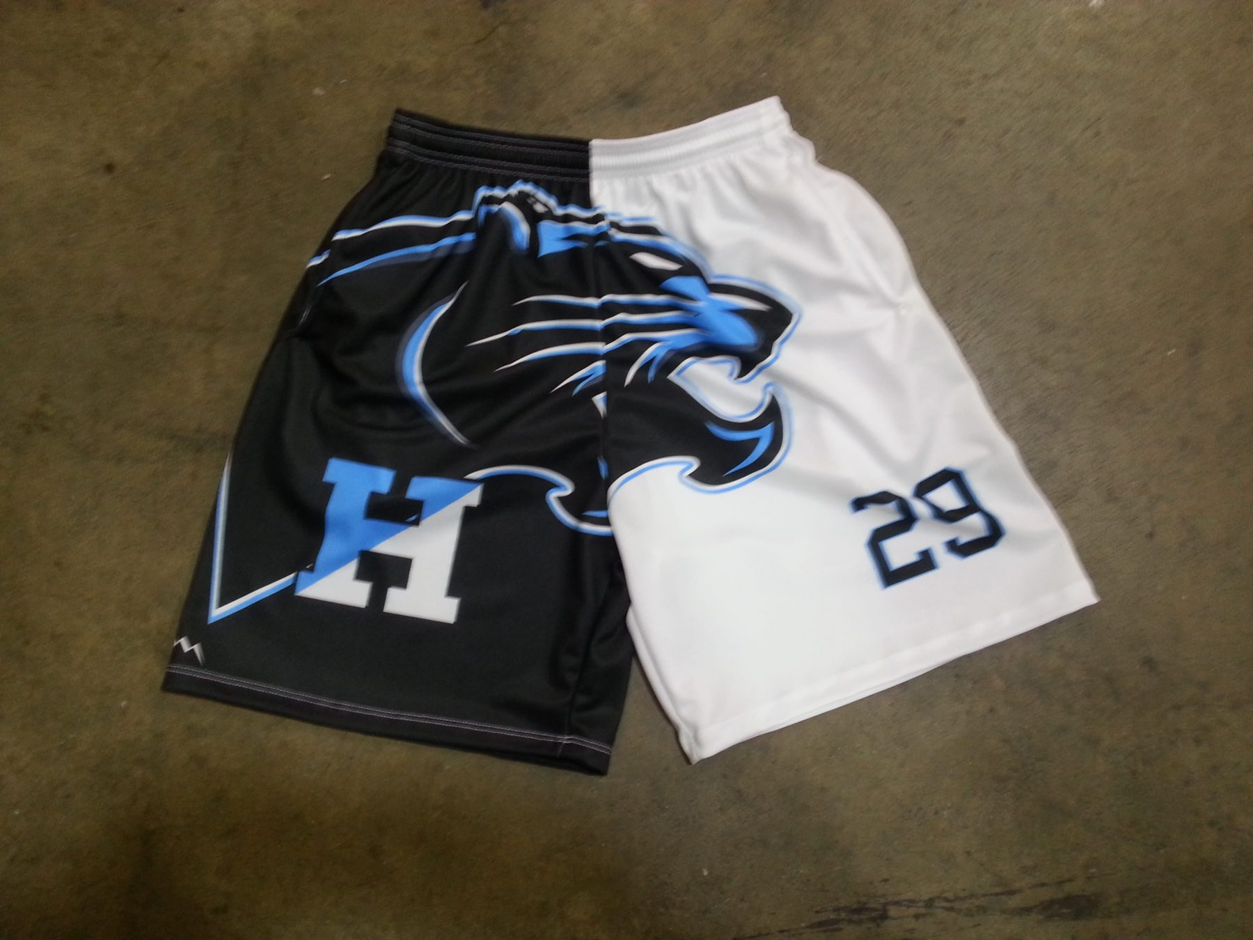 Custom Shorts With Logos