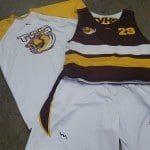 Brown Lacrosse Uniforms
