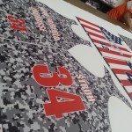 Girls Camouflage Lacrosse Uniforms