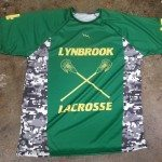 Green Lacrosse Shirts