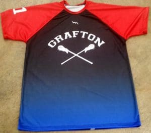 lacrosse shooter shirts with fade