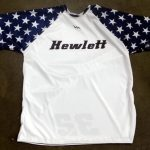 Lacrosse Shooter Shirts with Stars
