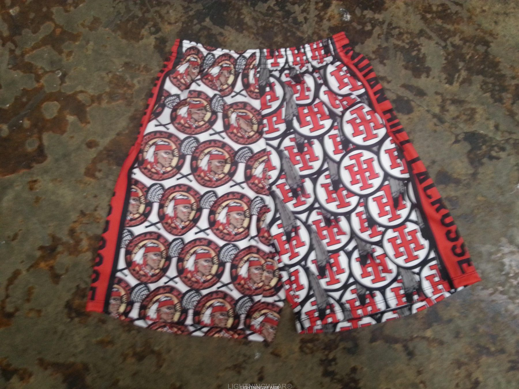 lacrosse uniform shorts