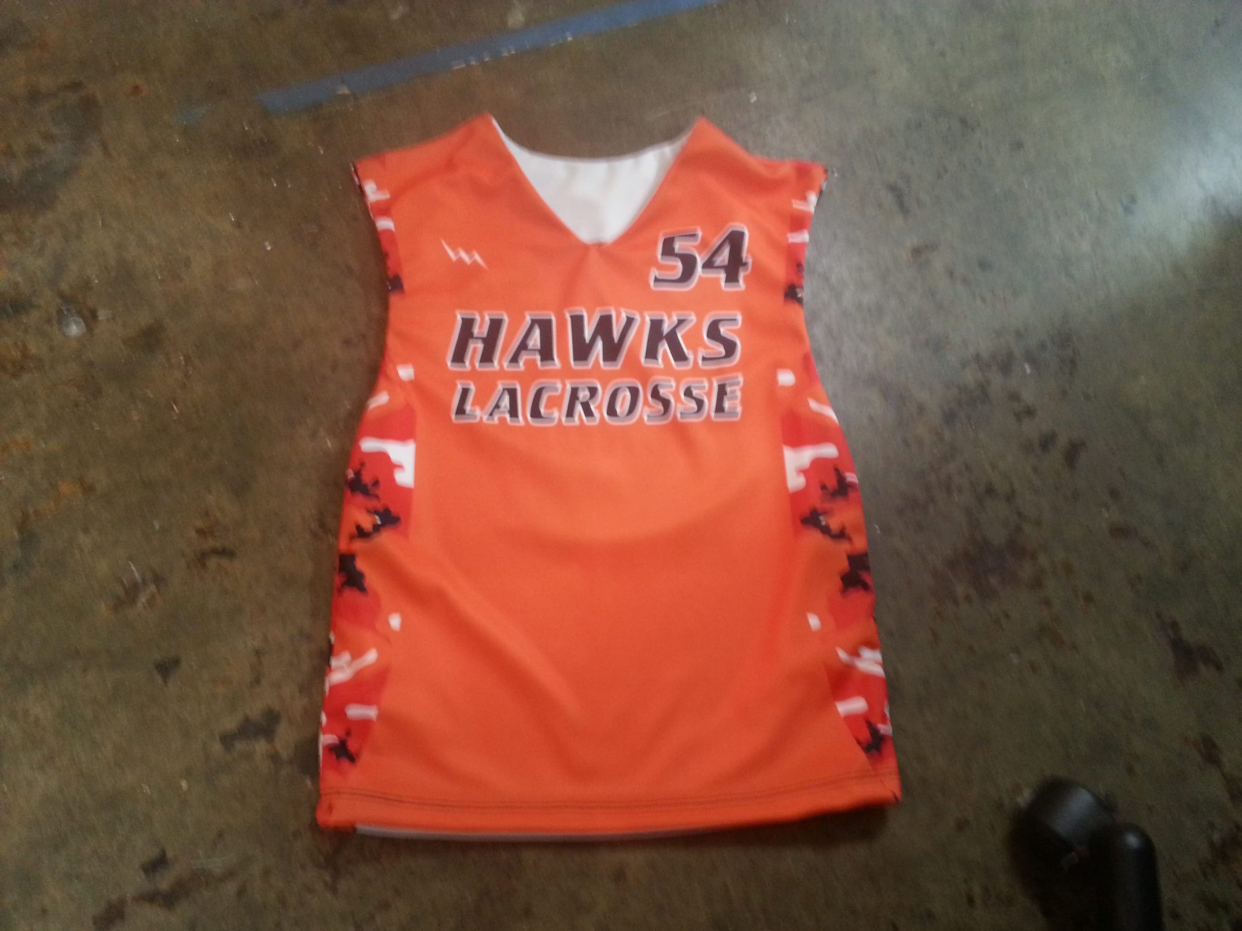 pittsburgh lacrosse pinnies