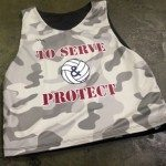 Camouflage Basketball Reversibles